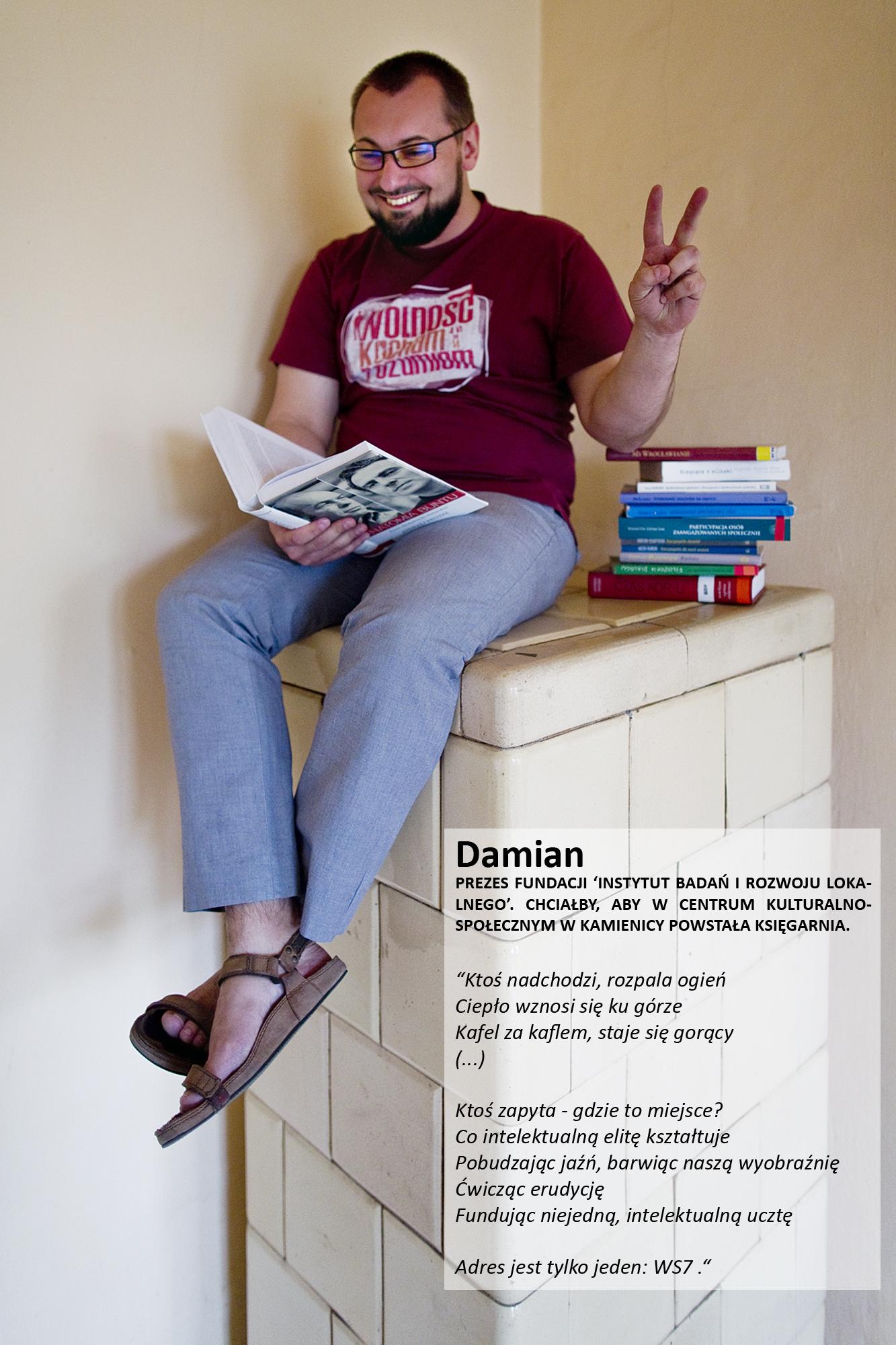 Damian Wojciech Dudala – Wyspa Slodowa 7