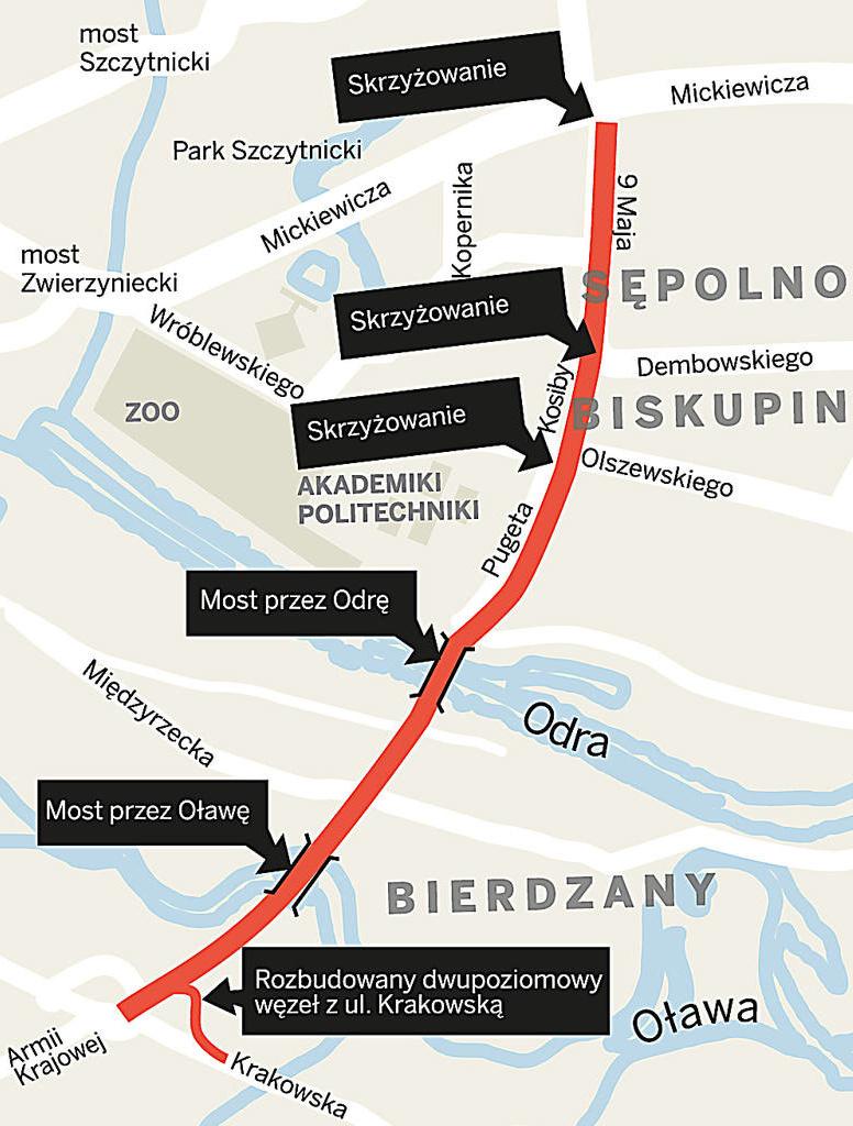 Wroclaw – Aleja Wielkiej Wyspy – 001